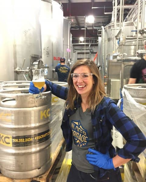 Kaitlyn Hendricks, Brewers of Indiana Guild board member and 3 Floyds Quality Assurance Analyst, helped lead the charge.