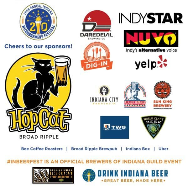 Indiana Microbrewers Festival sponsors