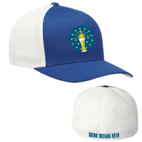 Drink Indiana Beer mesh cap
