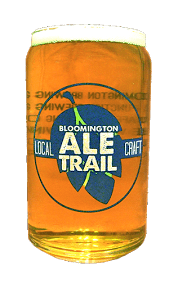 Bloomington Ale Trail glass