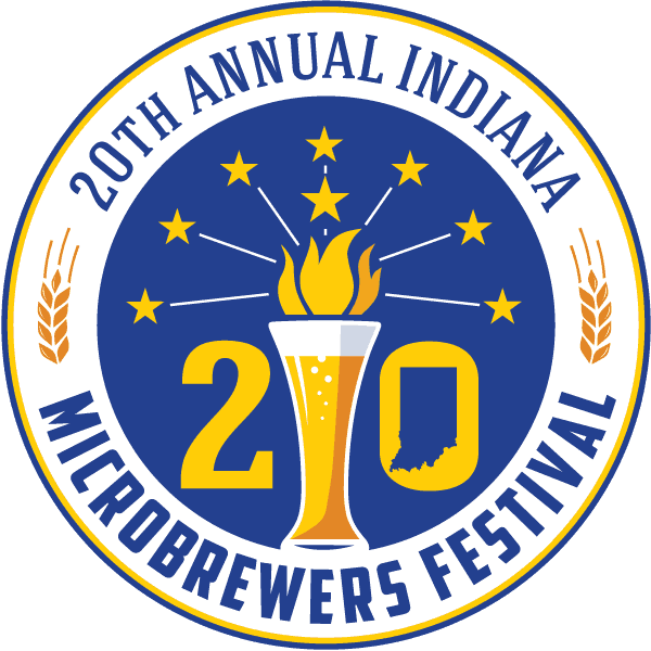 20th Annual Indiana Microbrewers Festival logo