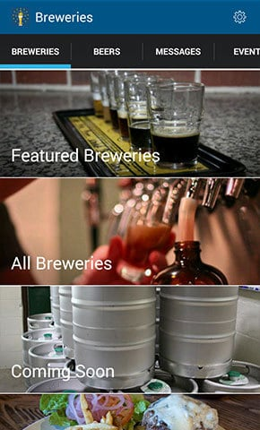The South Shore Brewery Trail app