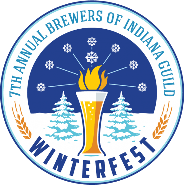 7th Annual Brewers of Indiana Guild Winterfest logo