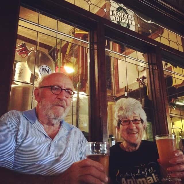 John Hill and Rita Kohn