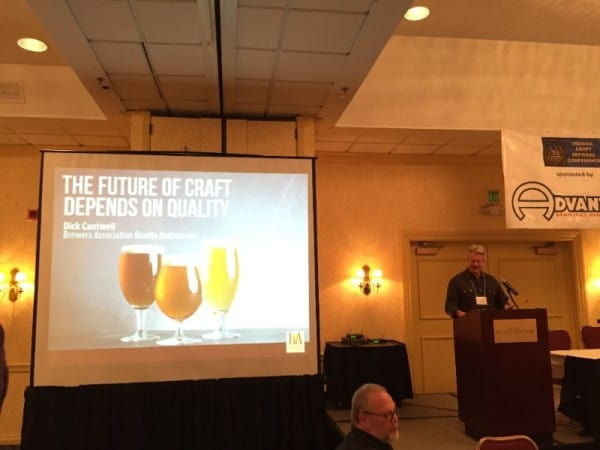 Dick Cantwell of Brewers Association speaks about quality in craft beer.