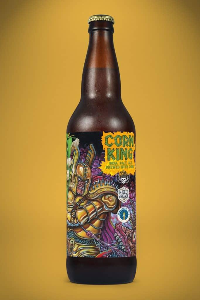 IN Beer Brigade - 3 Floyds Corn King IPA