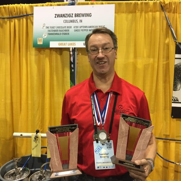 ZwanzigZ' Mike Rybinski, GABF Small Brewpub Brewer of the Year 2016