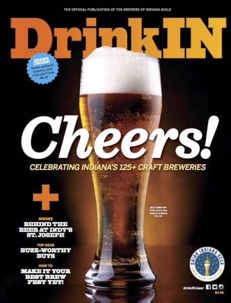 DrinkIN magazine 2016 cover