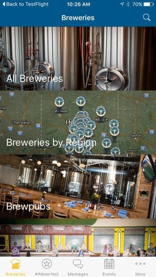 Drink Indiana Beer app