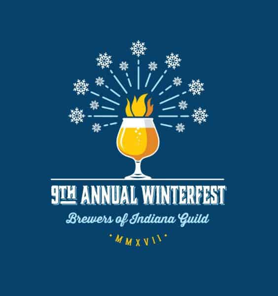9th Annual Brewers of Indiana Guild Winterfest logo
