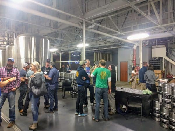 Centerpoint Brewing Company welcomed Brewers of Indiana Guild members for a Friday-night social presented by Amoretti Flavors.