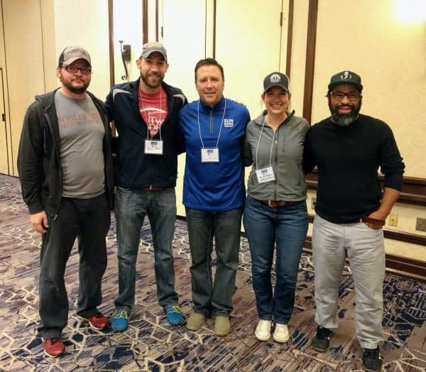 New Brewers of Indiana Guild board members