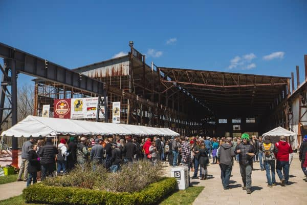Bloomington Craft Beer Festival 2016 at Woolery Mill