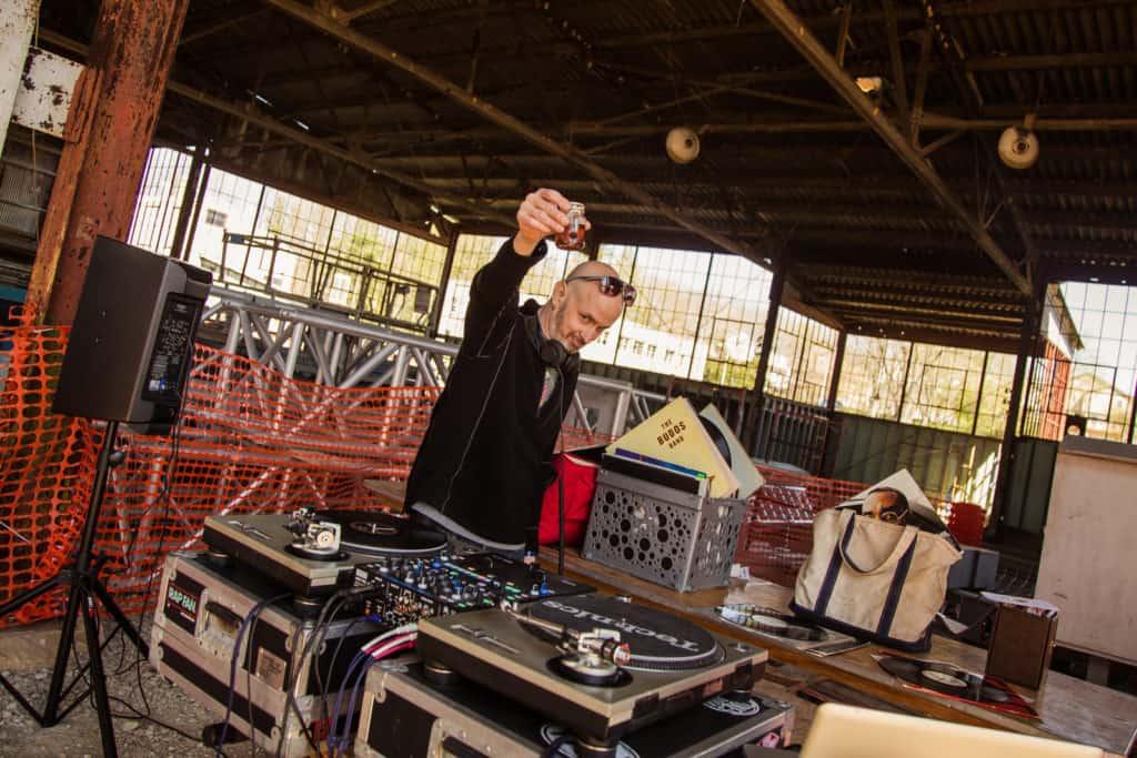 DJ at Bloomington Craft Beer Festival