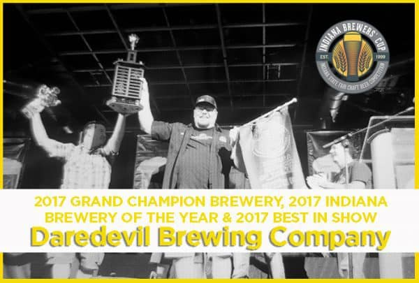 2017 Indiana Brewers Cup Winners - Daredevil