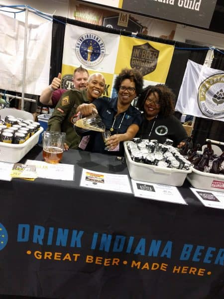 Brewers of Indiana Guild at Great American Beer Festival 2017
