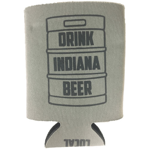 Drink Indiana Beer keg coolie/koozie