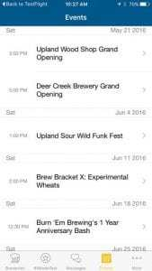 Drink Indiana Beer App Screenshot