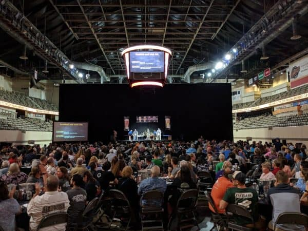 Indiana Brewers' Cup 2018 awards ceremony crowd