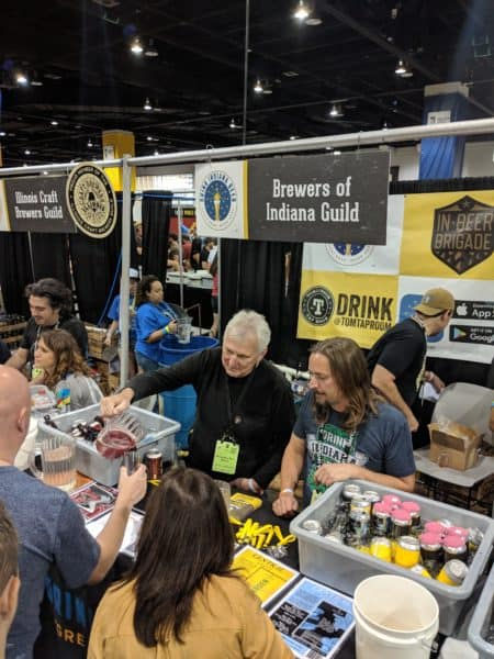 Brewers of Indiana Guild at GABF 2018