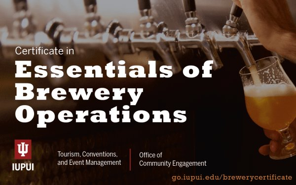 IUPUI Essentials of Brewery Operations