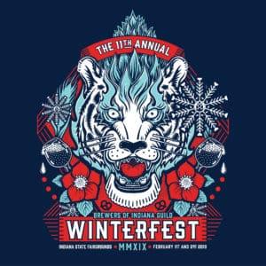 Indy Winterfest 2019 logo