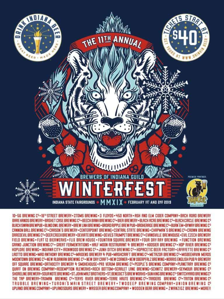 Winterfest 2019 poster with breweries-HopCat